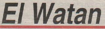 LES articles de N.E. Tatem sur El-Watan